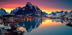 Norwegia jako jeden z najlepszych krajów do życia